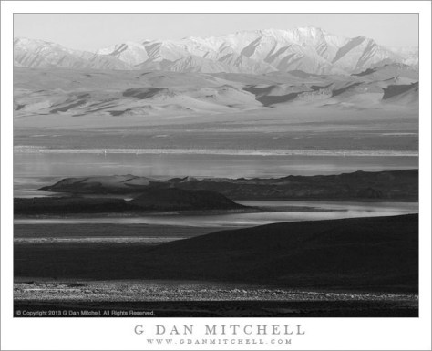 Evening Shadows, Mono Lake