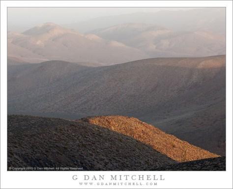 Sunrise Haze, Panamint Mountains