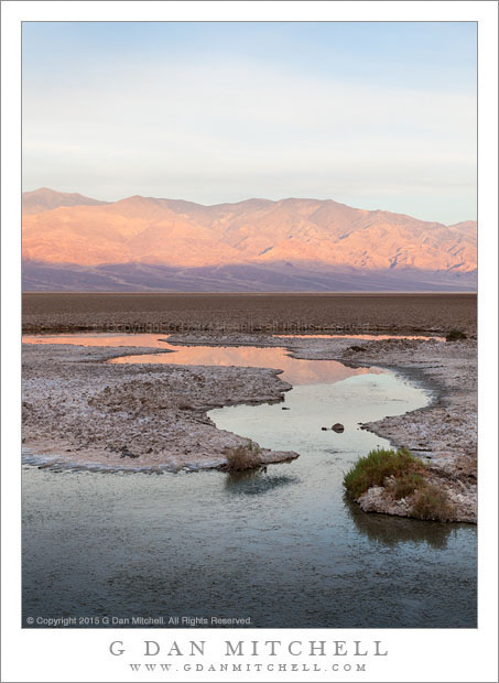 Panamint Range, Reflection
