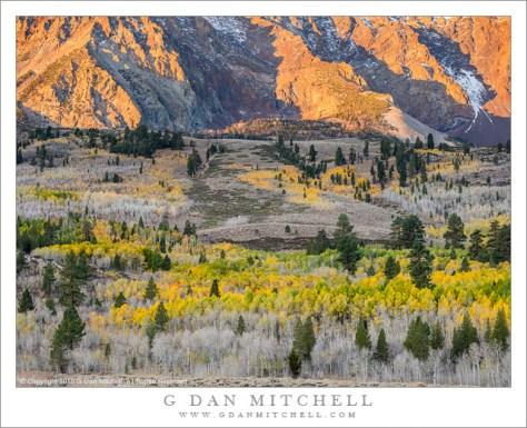 Eastern Sierra Sunrise, Autumn