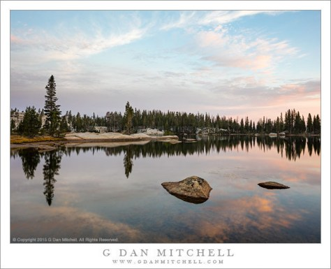 Backcountry Lake, Dawn