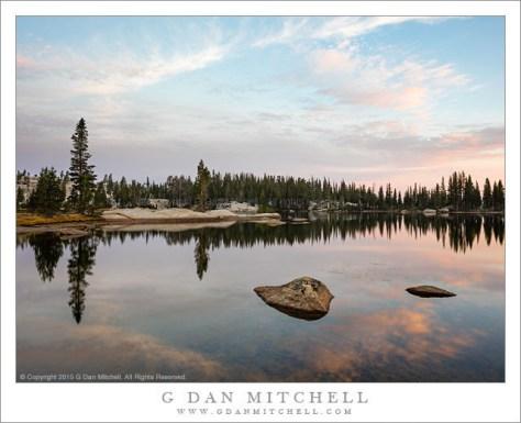 Backcountry Lake, Dawn