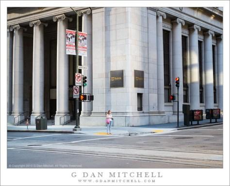 Woman at Crosswalk