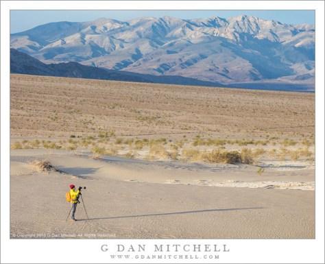 Photographer, Death Valley