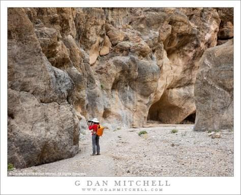 Photographer, Desert Canyon