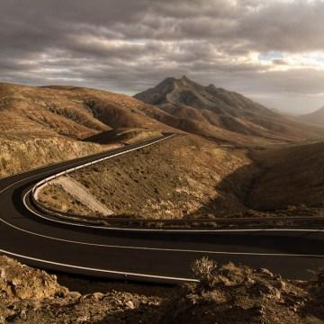 Route à Fuerteventura