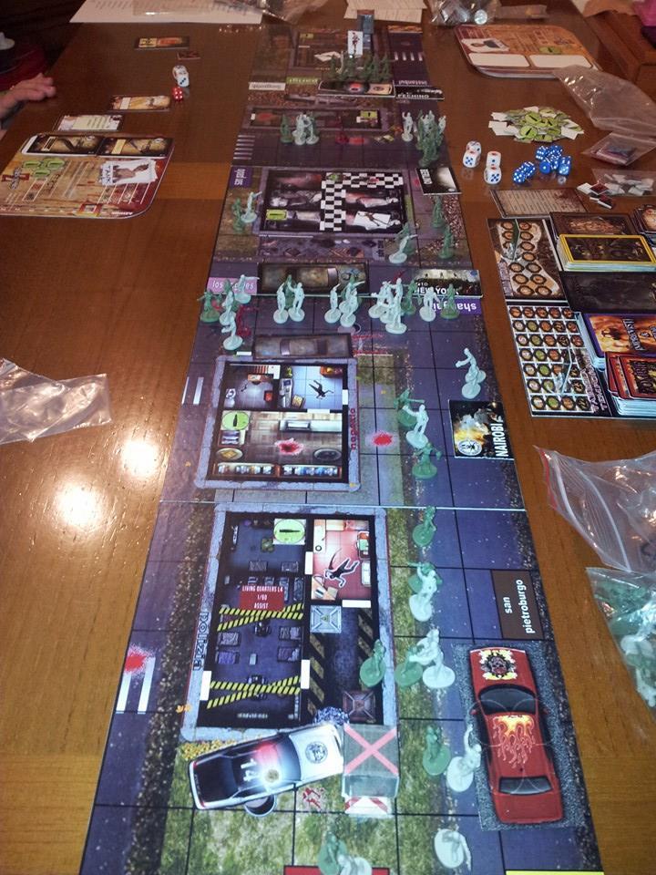Speed up your game 2014 vince survivors zombie - Zombie side gioco da tavolo ...