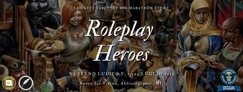 Roleplay Heroes: Longest Tabletop RPG Marathon Event