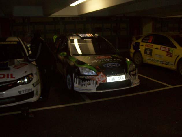 Ken Block's Ford at Wales Rally GB