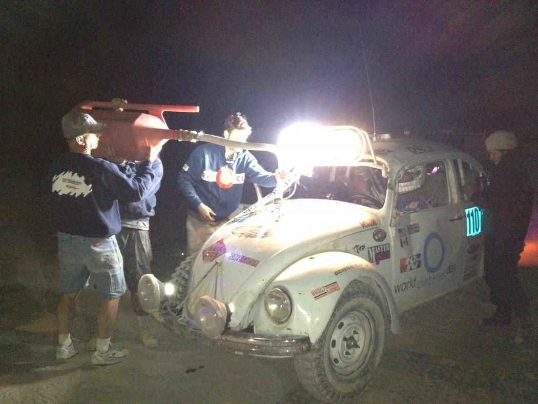 Desert Dingo Night fueling