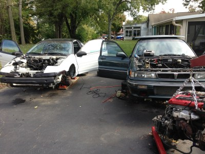 Greg's had to scrap a GVR4 and more to save his 1G.
