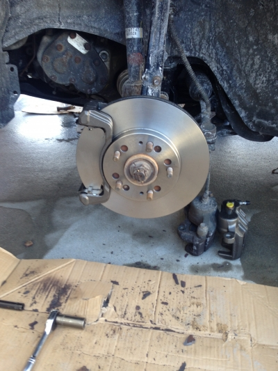 Fresh rotors are a thing of beauty.