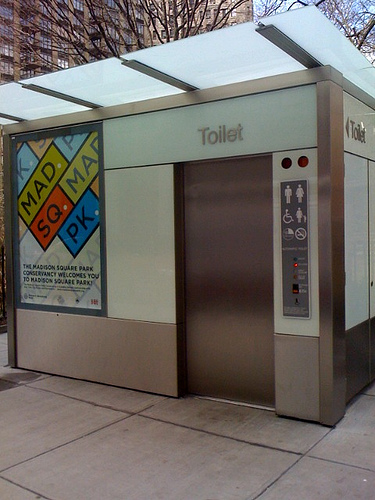 New York City Automatic Toilet
