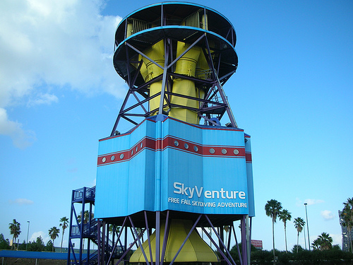 skyventure orlando indoor skydiving center