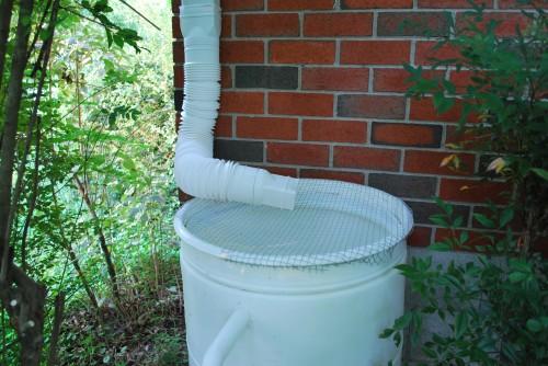 GearDiary Rain Water Spout