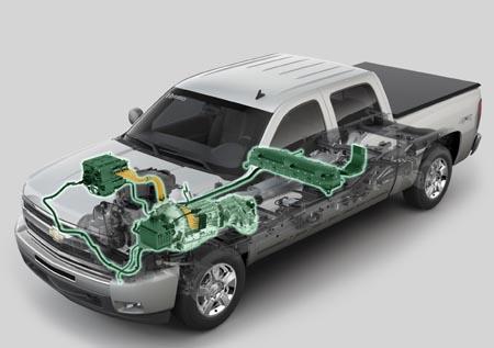 2009 Chevrolet Silverado Hybrid Crew Cab