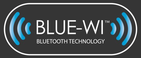 BlueWi Logo Black Background