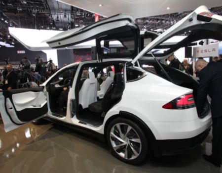 Tesla Prototype Model X