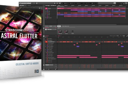 Native Instruments introduces Astral Flutter Expansion for Maschine
