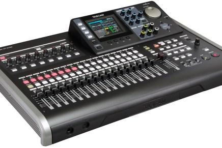 Tascam introduces the DP-24SD Portastudio