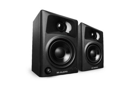 M-audio announced the AV42 and AV32 monitor speaker
