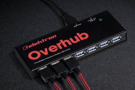 Elektron introduced Overhub 7-port USB 3.0 hub