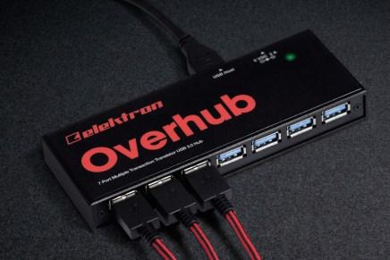 Elektron introduced Overhub 7-port USB 3.0 hub