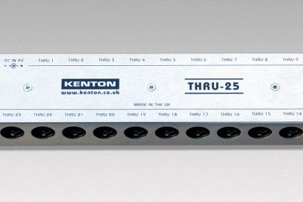 Kenton announces the THRU-25 box