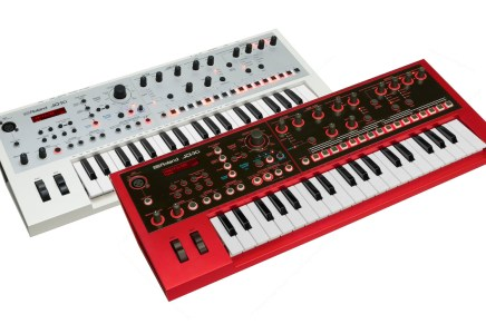 Roland Offers JD-Xi in Limited Edition White and Red Color