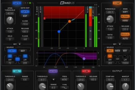 Waves Audio Now Shipping the eMo D5 Dynamics Plugin
