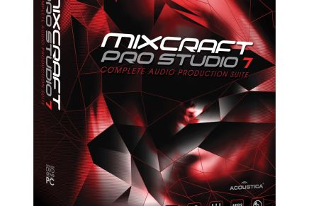 Acoustica releases Mixcraft 7.5, includes advanced Windows 10 support