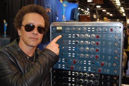 BAE Audio gear take Guitarist Billy Morrison's studio sound to the next level