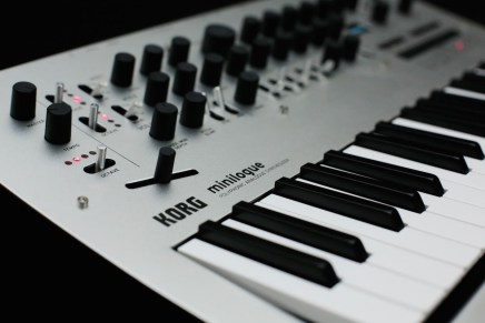 Korg announces Minilogue polyphonic analog synthesizer