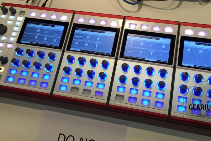 DASZ Instruments ALEX at Superbooth 2018 showing new sequencer features