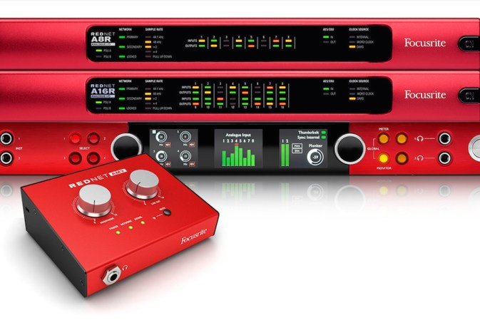 Focusrite Displays Full Range of Audio Network Solutions for Broadcasters at NAB