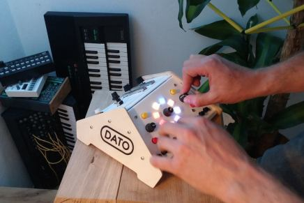 On Kickstarter Dato DUO the synth for two