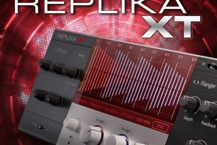 Native Instruments introduces REPLIKA XT multi delay effect software