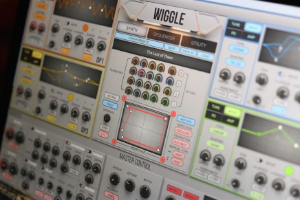 2nd Sense Audio Updates WIGGLE Dynamic Waveshaping Synthesizer to 1.1