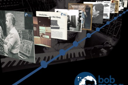 Bob Moog Foundation Releases Historical  Bob Moog Timeline