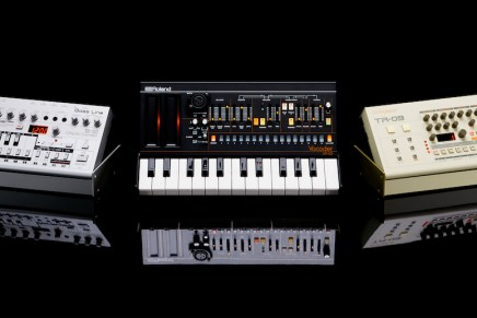 Roland announces TR-09 Rhythm Composer, TB-03 Bass Line and VP-03 Vocoder
