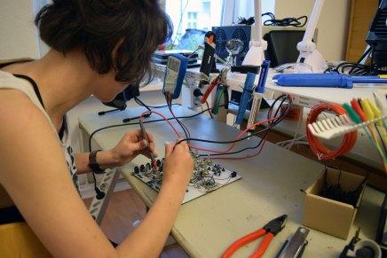 KOMA Elektronik opens new electronics maker lab Common Ground in Berlin