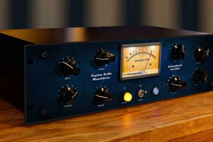Tegeler Audio Manufaktur releases Schwerkraftmaschine stereo compressor with remote plug-In control