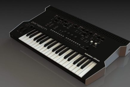 Fabulous Silicon introduces the Paradigm analog monophonic synthesizer
