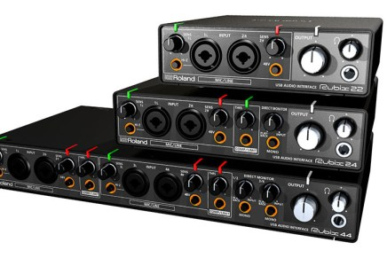 Roland debuts Rubix line of audio interfaces