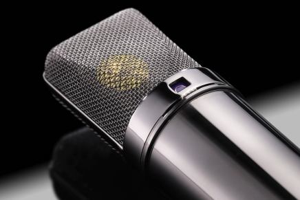 Neumann announces the U 87 Rhodium Edition