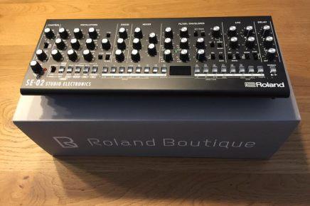 Roland SE-02 Studio Electronics analog monophonic synthesizer – Gearjunkies review