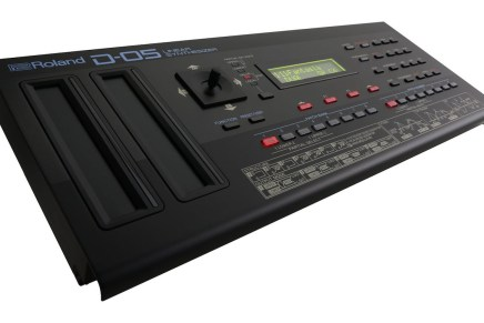 Roland announces the D-05 linear synthesizer
