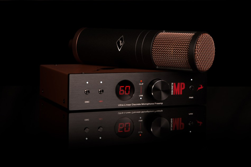 Antelope Audio announces EDGE Strip Discrete Dual Ultra-Linear Microphone Preamp and modelling microphone