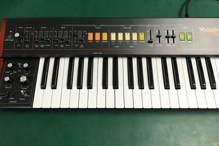 Behringer shows the vocoder and string ensemble VC340