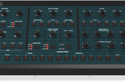 Uli Behringer announces the UB-Xa desktop synthesizer – a Oberheim OB-Xa clone